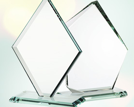 PRISM Crystal Awards Engravable Blank Manufacturer | Topmost